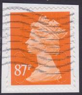 GREAT BRITAIN 2012 87p Machin MA12 - USED @Q512 - Machin-Ausgaben