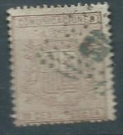ESPAGNE ESPAÑA SPANIEN SPAIN ESPAÑA  1874 WAR TAX Escudo ARM 10 Céntimos USED ED 153 MI 145 YT 151 SG 227 SC 211 - Used Stamps