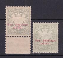 Bayern - 1895 - Portomarken - Michel Nr. 13 X/y - Postfrisch - Bayern
