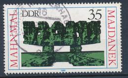 RDA-Mémorail De Majdanek YT 2196 Obl./ DDR- Gedenkstätte Majdanek Mi.Nr. 2538 Gest. - Gebraucht