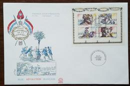 FDC Grand Format 1991 - YT N° BF 13 - Bicentenaire De La Révolution - 1990-1999