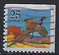 USA  1988  Birds, Ring Necked Pheasant  (o) Mi.1975  Eor - Gebraucht