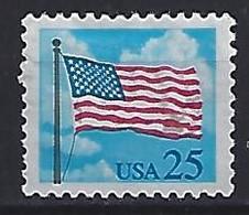 USA  1988  Flag + Clouds  (o) Mi.1976  A - Gebraucht