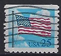 USA  1988  Flag + Clouds  (o) Mi.1976  Do - Gebraucht