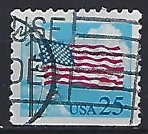 USA  1988  Flag + Clouds  (o) Mi.1976  Du - Gebraucht