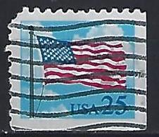 USA  1988  Flag + Clouds  (o) Mi.1976  Eru - Gebraucht