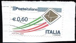 ITALIA - 2009 - Busta Che Spicca Il Volo Dorata -  0,60 - Usato - (XX0003) - 2001-10: Usati