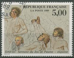 Frankreich 1989 Kunst Gemälde Jacques-Louis David 2723 Gestempelt - Gebraucht