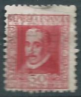 ESPAGNE SPANIEN SPAIN ESPAÑA 1935 LOPE DE VEGA 30 CENT RED USED ED 691 YV 535 MI 643A SG 782A SC 553 - 1931-50 Used