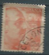 ESPAGNE SPANIEN SPAIN ESPAÑA 1940 FRANCO 60 CENTS ORANGE USED ED 929 YT 686 MI 850 SG 971 SC 701 - 1931-50 Used
