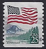 USA  1988  Flag + Yosemite National Park  (o) Mi.1978 - Used Stamps