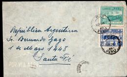 Peru - 1947 - Lettre - Envoyé En Argentine - Peru