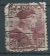 ESPAGNE SPANIEN SPAIN ESPAÑA 1946 STAMPDAY: NEBRIJA 50 CENTS CARMIN LILLE USED ED 1002 YT 752 MI 938 SG 1070 SC 744 - 1931-50 Used