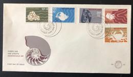 NETHERLANDS, Uncirculated FDC, # 83  -  « SHELLS », « SEA LIFE », 1967 - FDC