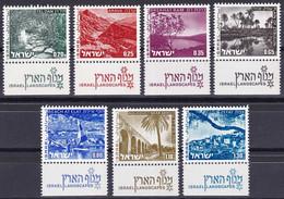 Israël YT 532/38 Année 1973-75 (MNH **) - Ungebraucht (mit Tabs)