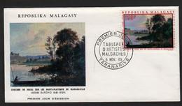 Madagascar  TANANARIVE 5 Novembre 1969 Sur N° Yv PA 111, FDC,  Henri Ratovo - Madagaskar (1960-...)