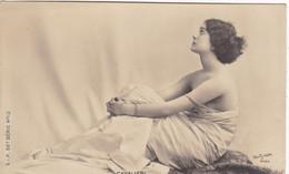"""ARTISTE .THEATRE.CPA .ANNÉES 1900."""" CAVALIERI """". PROFIL.BEAUTE. . PHOTO D'ART REUTLINGER PARIS . - Künstler"""