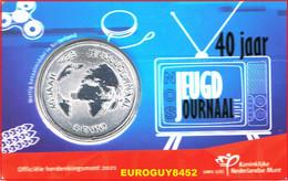 NEDERLAND - COINCARD 5 € 2021 UNC - 40 JAAR JEUGDJOURNAAL - Niederlande