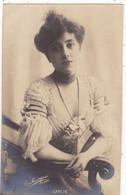 """ARTISTE .THEATRE.CPA. ANNÉES 1900."""" CARLIX """".  MODE. .PHOTO D'ART REUTLINGER 1901.PARIS . - Künstler"""
