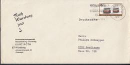 BERLIN 380 EF, FDC, Auf Drucksache Mit Stempel: Würzburg 3.5.1971 - Briefe U. Dokumente