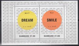 DÄNEMARK  Block 69, Postfrisch **, Kunstausstellung: Yoko Ono, 2018 - Blocks & Kleinbögen