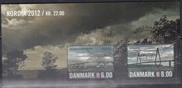 DÄNEMARK  Block 46, Gestempelt, NORDIA '12, 2012 - Blocks & Kleinbögen