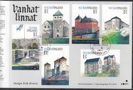 FINNLAND  2284-2289, Markenheftchen, Gestempelt, Alte Finnishe Burgen, 2014 - Markenheftchen