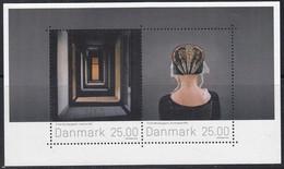 DÄNEMARK  Block 65, Gestempelt, Briefmarkenkunst, 2016 - Blocks & Kleinbögen