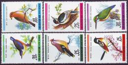 DPRK -  BIRDS  - **MNH - 1988 - Uccelli Canterini Ed Arboricoli