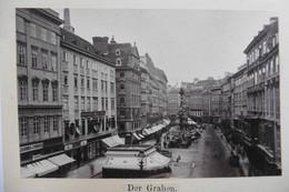 Photo CDV Autriche Vienne Österreich Wien Der Graben Années 1860 Epoque Empereur François-Joseph - Oud (voor 1900)