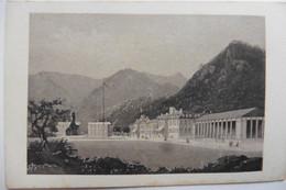 Photo CDV Allemagne Bayern Bavière Bad Kreuth Bei Tegernsee Propriété Wittelscbach 1860 D'après Gravure - Oud (voor 1900)