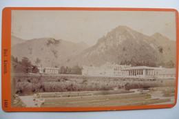 Photo CDV Allemagne Bayern Bavière Bad Kreuth Bei Tegernsee Propriété Wittelscbach 1860-1870 - Oud (voor 1900)