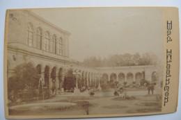 Photo CDV Allemagne Bayern Bavière Bad Kissingen Baden Circa 1860-1870 - Oud (voor 1900)