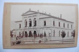 Photo CDV Allemagne Bayern Bavière Bad Kissingen Luitpoldbad Circa 1860 Pilartz - Oud (voor 1900)