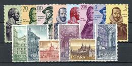 1961, Spanien, 1269-82, ** - Zonder Classificatie