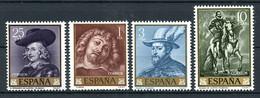 1962, Spanien, 1322-25, ** - Zonder Classificatie