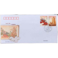 2008-7 CHINA-INDIA JOINT White Horse Temple & Mahabodhi Temple FDC - 2000-2009