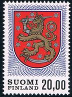 Finland 1978 Definitive Stamp — National Arms 1v MNH - Ungebraucht