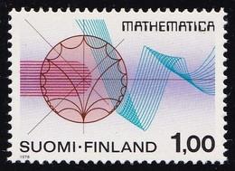 Finland 1978 International Mathematics Congress Stamp 1v MNH - Ungebraucht
