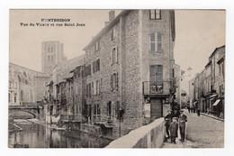 42 LOIRE - MONTBRISON Vue Du Vizezy Et Rue Saint Jean - Montbrison