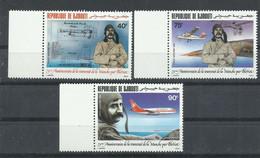 DJIBOUTI   YVERT  AEREO  208/10    MNH  ** - Djibouti (1977-...)
