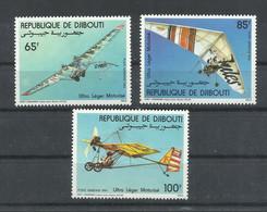 DJIBOUTI   YVERT  AEREO  197/99   MNH  ** - Djibouti (1977-...)