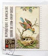 1989 N°2612      Timbre Sur Fraguement - Gebraucht
