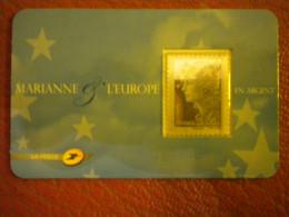 2008 N° 4242 TIMBRE EN ARGENT 5 EURO TYPE MARIANNE DE BEAUJARD  NEUF** VOIR SCAN - Nuovi