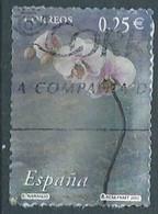 SPANIEN ESPAGNE SPAIN ESPAÑA 2002 FROM CARNET FLOWERS FLORES USED ED 3876 YT 3441 MI 3721 SG 3846 SC 3145H - 2001-10 Usati