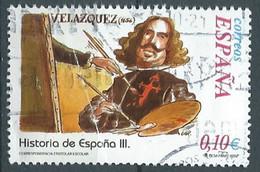 SPANIEN ESPAGNE SPAIN ESPAÑA 2002 FROM HISTORY II: VELÁZQUEZ USED BENDED ED 3915 YV 3483 MI 3763 SG 3885 SC 3175D - 2001-10 Usati