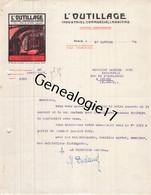 75 26806 PARIS SEINE 1919 Revue Journal L OUTILLAGE - L'OUTILLAGE - Industriel Commercial Et Maritime Signe DUCLAUD Rue - 1900 – 1949