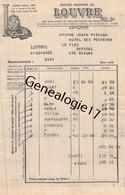 75 26809 PARIS SEINE 1938 Magasins LE LOUVRE Dest JANIN PISSARD Hotel Des Pecheurs LE FIER SEYSSEL 74 Haute Savoie - 1900 – 1949