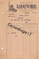 75 26810 PARIS SEINE 1921 Magasins LE LOUVRE Dest Me BREVET D ECAILLON Par MONTIGNY EN OSTREVENT Nord 59 - 1900 – 1949