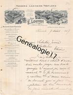 75 26811 PARIS SEINE 1907 Fonderie Laminoirs E. LOUYOT Trefilerie Rue Folie Mericourt USINE A BORNEL OISE 60 Dest SABATI - 1900 – 1949